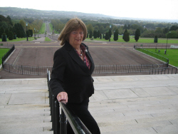 Fiona at Stormont